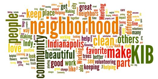 Word Cloud - Volunteer Cookout Responses Aug 2012