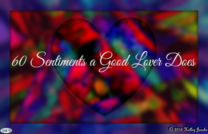 Featured Pic for 60 Sentiments a Good Lover Does