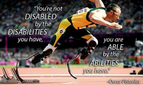 You Are Able By The Abilities You Have