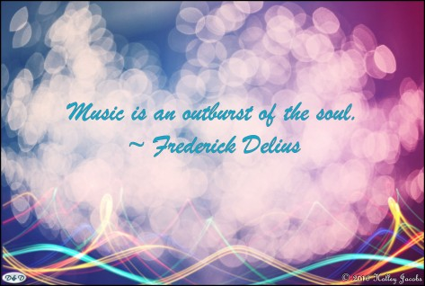 Music Is Outburst of Soul