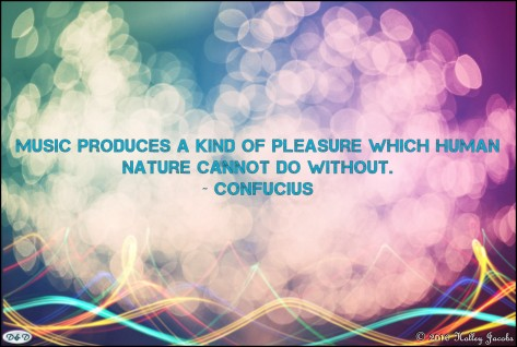 Music Produces Pleasure